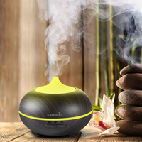 EASEHOLD 150ml Aroma Essential Oil Diffuser Wood Grain Ultrasonic Cool Mist Humidifier For Office Home Bedroom