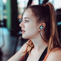 Bluedio TE Sports Wireless Bluetooth In Ear Earbuds Built In Mic Sweat Proof Earphone With Bass