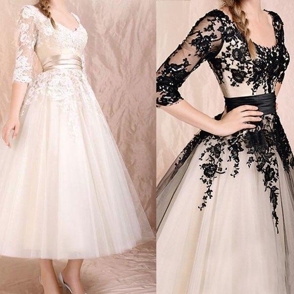Black Wedding Gowns For Sale: 2015 Hot Sale Sweetangel Vintage Black Or Champagne Lace