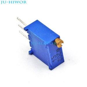 (50 pçs/lote) 3296 202 2 K 3296 W potenciômetro Aparar Potenciômetro Resistor Variável
