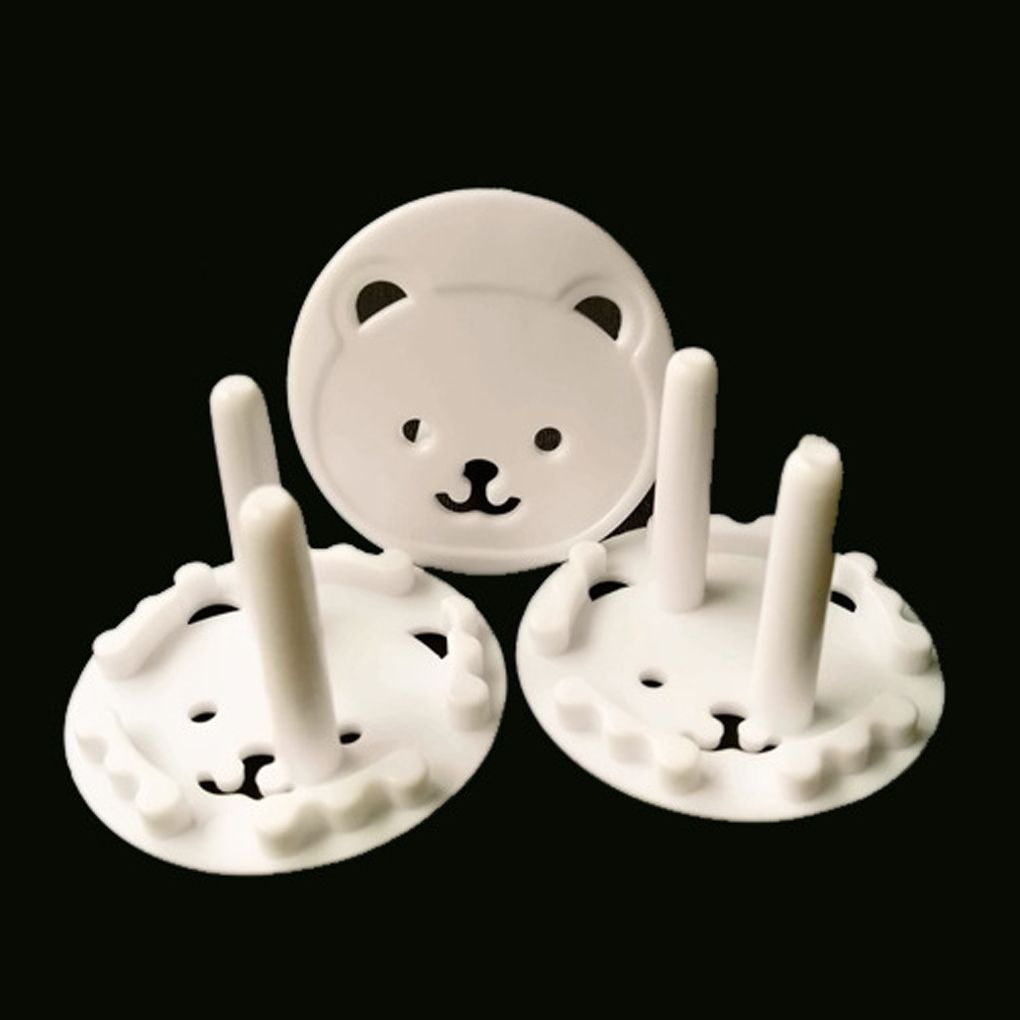 10Pcs Baby Socket Protection Cover Mains Plug Socket Cover Baby Proof Child Safety Plug Guard Protector Anti Electric Shock Plug