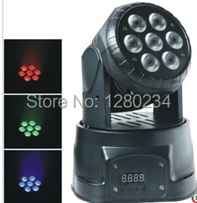 trending hot products 7pcs*10w 4 in 1 RGBW led wash mini moving head dj light dmx512 holiday lighting for club disco decorations