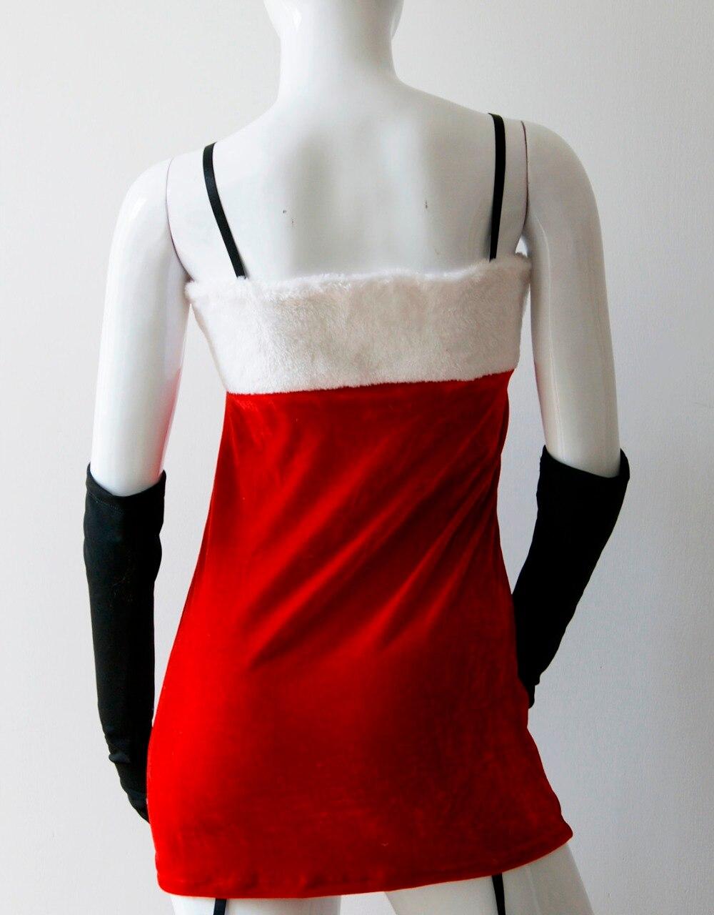 Dameskleding thema Kerstmis voor dames Kerstman Kerstmis Helper - Carnavalskostuums - Foto 3