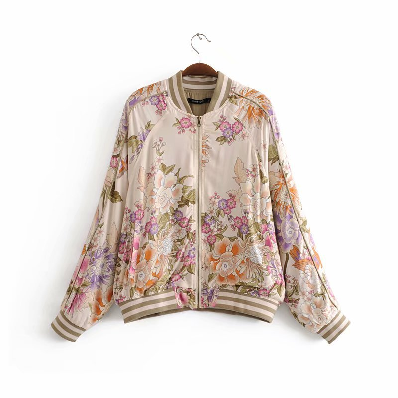 Blazers Fashion Women Xy70-8173 European And American Fashion Positioning Printing Jacket Strengthening Sinews And Bones