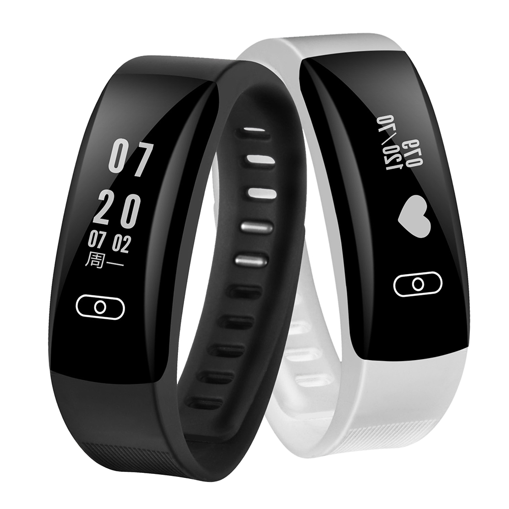 Smart Wristband 0 91inch OLED Screen Waterproof Heart Rate Blood Pressure Monitor Fitness Tracker Smart Wristband