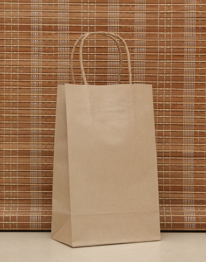 Lot Fashionable Kraft Paper Gift Bag
