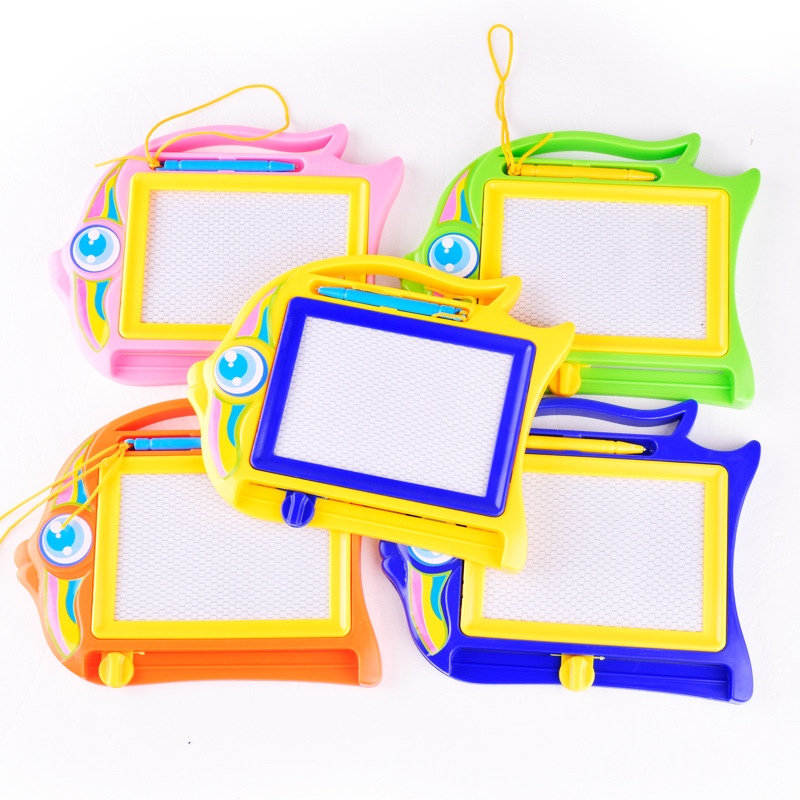 1 Pcs Drawing Board Toys Magnetic Cartoon Children Paint Graffiti Writing Drawing Board Kids Learning Education Toy For Kid Gift
