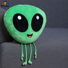 Plush Emoji Emotion Green ET Toy Stuffed Aliens Monster Cushion Toys Baby Kids Boy Funny Gift Home Decor Triver