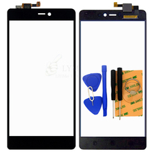 Black TP for Xiaomi Mi4C Mi 4C M4C 5.0″ Touch Screen Digitizer Glass Panel Sensor No LCD Phone Replace Part Free Shipping+Tools
