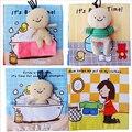 Тканевые книги  3d-книги  4 страницы  звуковые и обучающие тканевые книги  книги для ванной  для новорожденных  0-12 месяцев  1