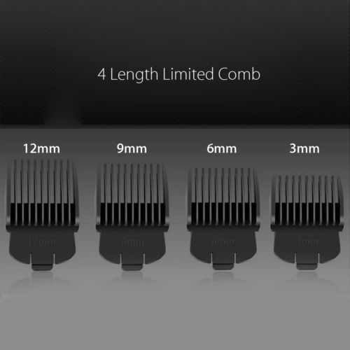 Wireless Trimmer with Comb EU Plug 4