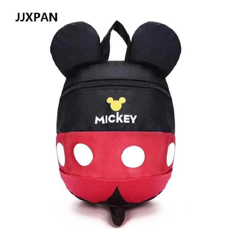 Cartoon Minnie Mickey Children Backpacks Kids kindergarten Anti-lost Backpack  Baby School Bags Satchel for 8c6fb79bfea0c