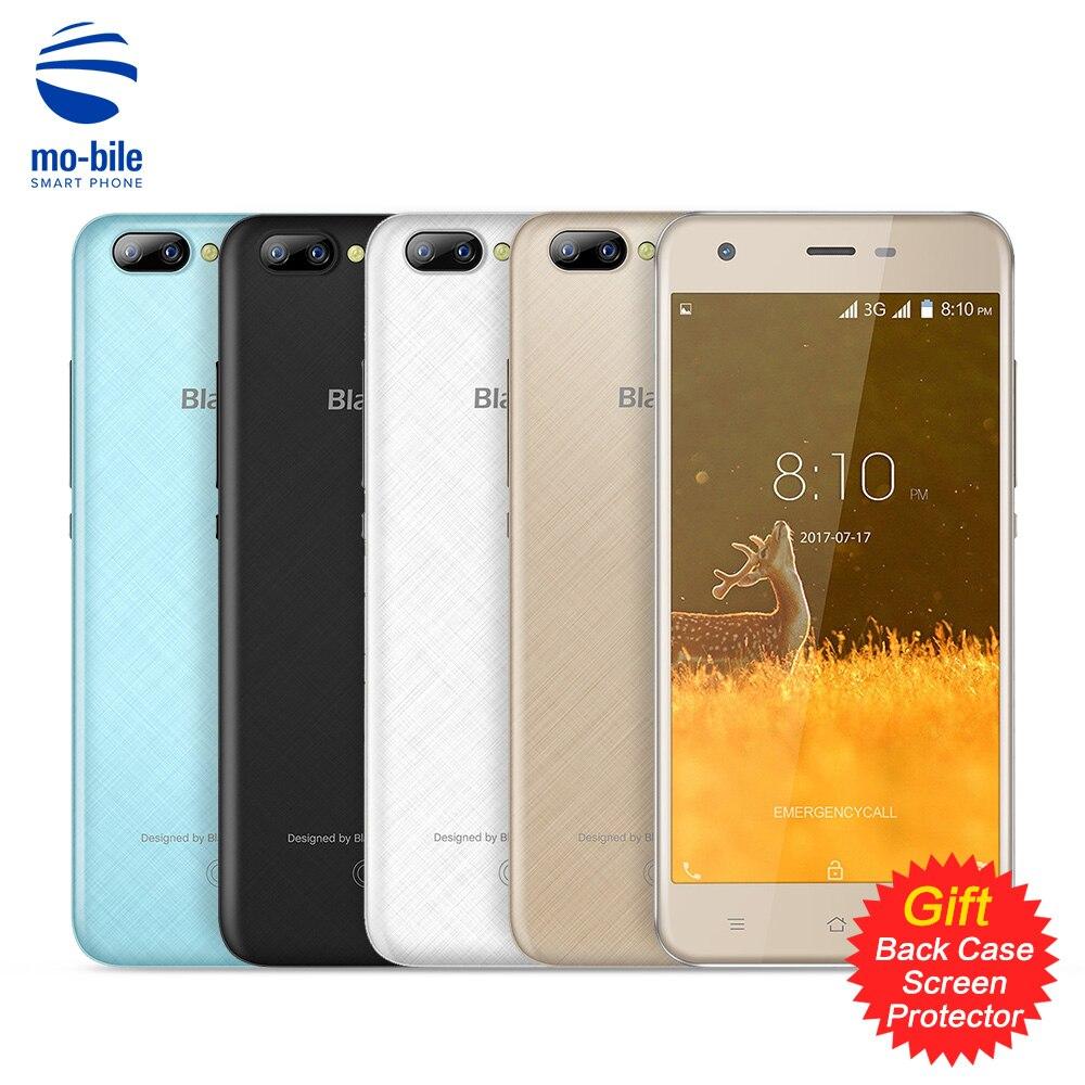 Оригинал Blackview A7 Смартфон Android 7.0 5.0 дюймов mtk6580a 1 ГБ Оперативная память 8 ГБ Встроенная память 0.3mp + 5.0mp двойной сзади камеры IPS мобильный телефон