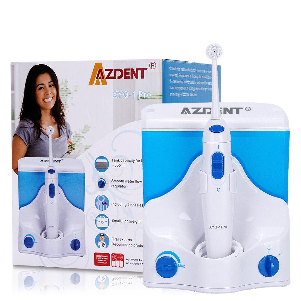 Электрический ирригатор для полости рта зубная нить для полива воды струйная зубная нить спа очиститель отбеливание зубов рот протез зуб ...