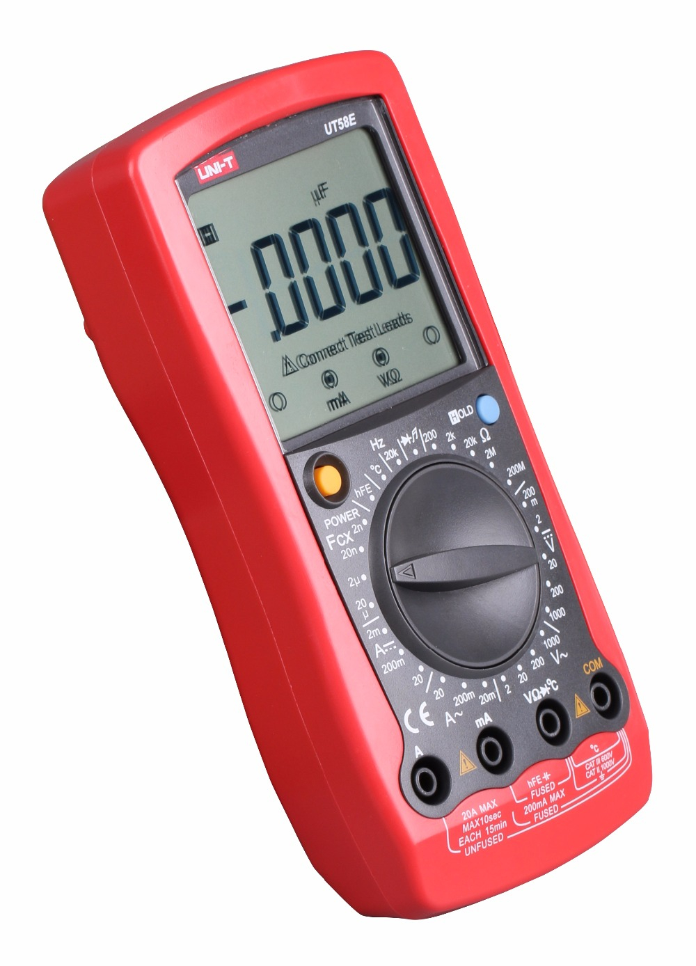 Digital Multimeter UT58E 4 1/2 Multimeters range W/ frequency temperature test ammeter Multitest same functionality as Fluke 233 digital multimeter ut58e 4 1 2 multimeters range w frequency temperature test ammeter multitest same functionality as fluke 233