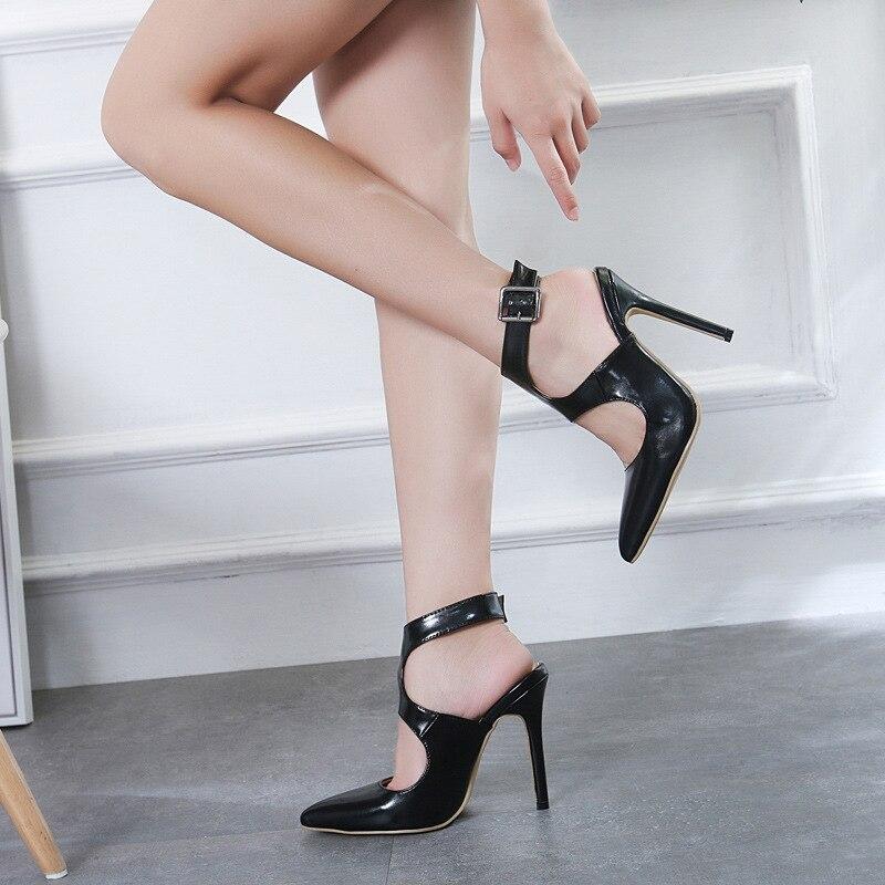 Zapatos Mujeres Street Sexy Zl Punta Primavera Negro 20 40 2019 198 Pasarela De Confort Sandalias Beat Otoño qBzdYFnwx