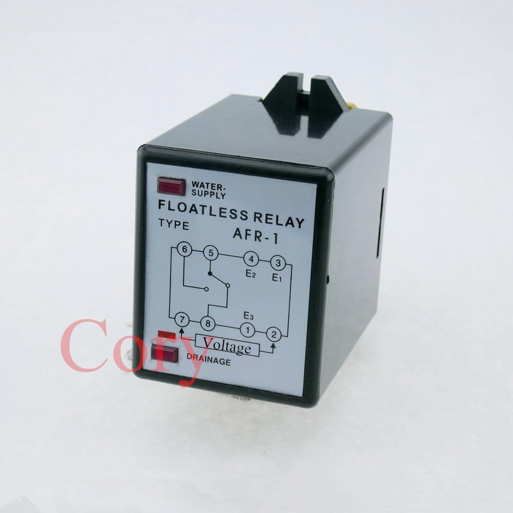 цена на Liquid Water Level Control Sensor Switch Floatless Relay 8 Pin 220V AC AFR-1