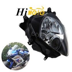 Motocyklowe przednie światła reflektorów czołówka reflektor przedni zestaw dla Suzuki GSXR1000 GSX R1000 GSXR 1000 2007 2008 K7 K8 na