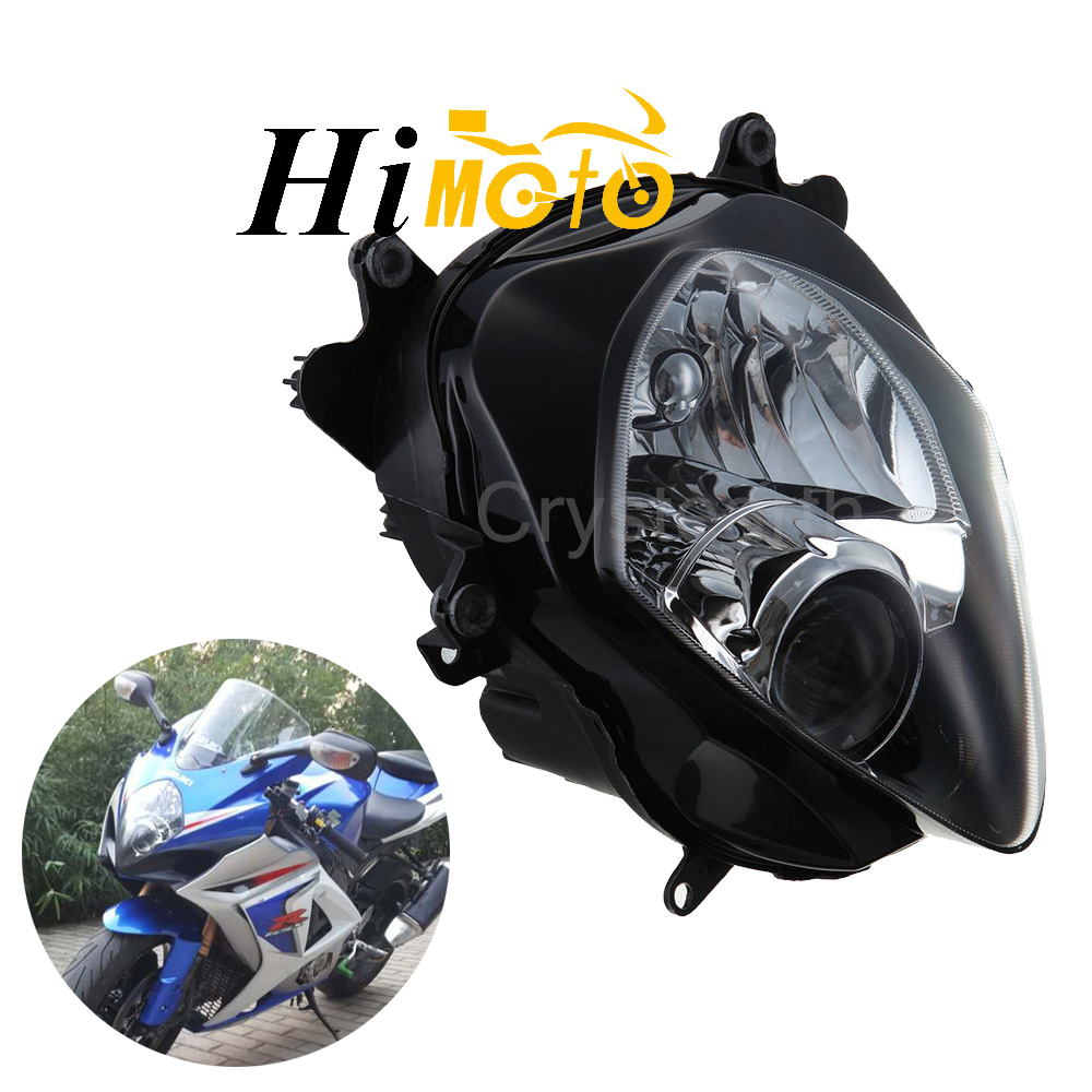 Motorcycle Front Light Headlight Head Lamp Headlamp Assembly Housing <font><b>Kit</b></font> For <font><b>Suzuki</b></font> <font><b>GSXR1000</b></font> GSX-R1000 GSXR 1000 2007 2008 K7 <font><b>K8</b></font> image