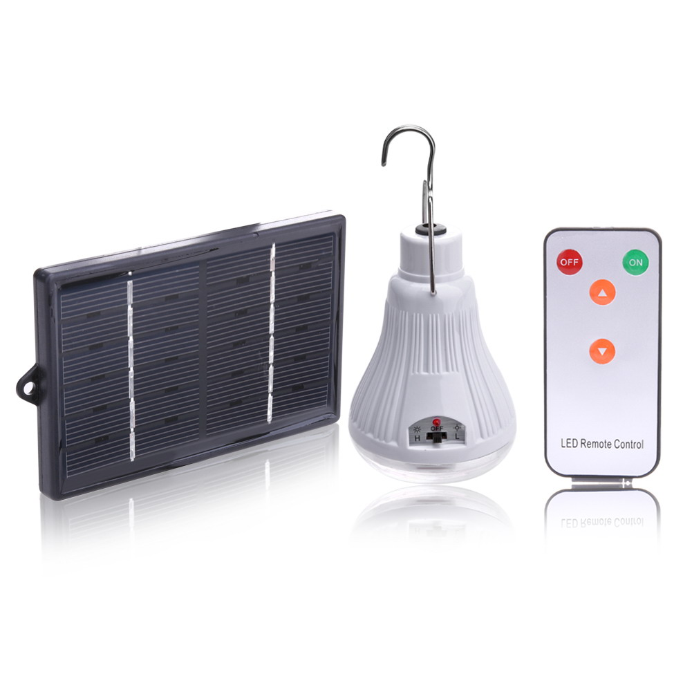 Outdoor Indoor Dimmable 20-LED Solar Light Lamp Rechargeable Hooking Camp Garden Travel Camping lighting Remote Control zuke rechargeable outdoor solar light dimmable e27 led bulb lamp remote control indoor reading lighting camping night light