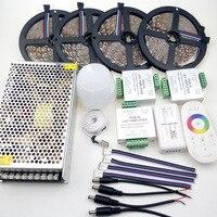 Mi Light WIFI 20m RGBW RGBWW LED Lamp Strip Kit 5050 5m Roll 300leds RF Remote