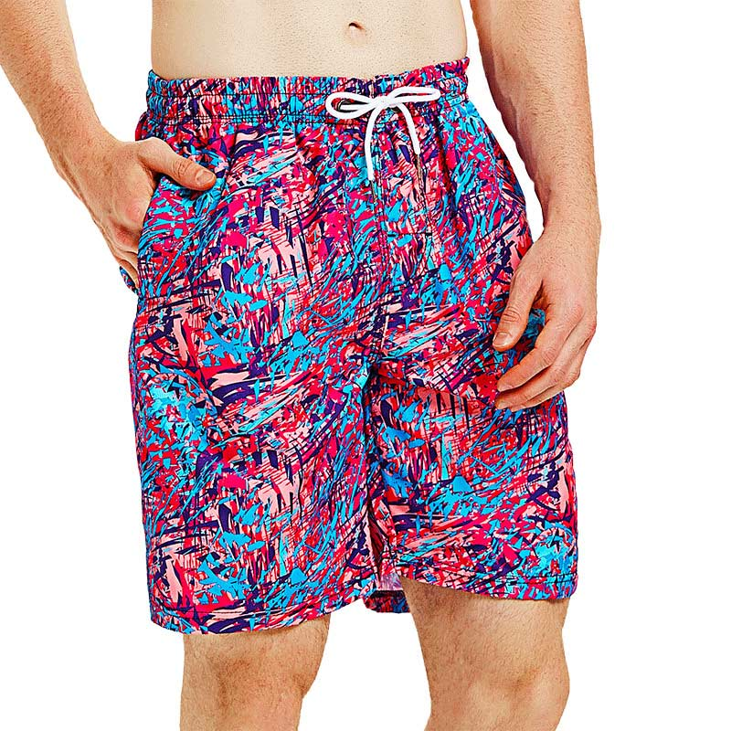 Shorts Pants Surfing Swimming Summer Men B94601X Dream Loose Colorful Quick-Dry Running
