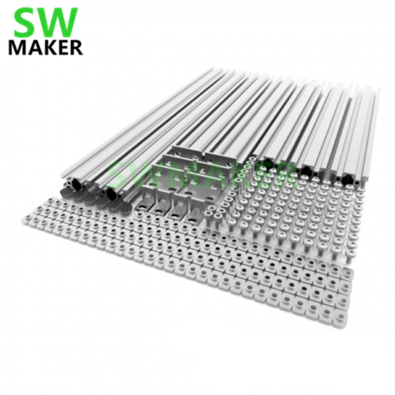 SWMAKER AM8 3D Printer Extrusion Metal Frame - Full Kit For Anet A8 Upgrade High Quality