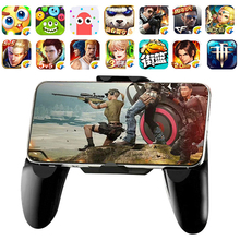 Get more info on the 2019 Bluetooth Gamepad for PUBG STG FPS Game Trigger Cell Phone Mobile Controller Fire Button IOS Bluetooch Gamepad