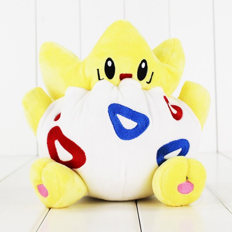 Togepi Stuffed Cartoon Togepi Animals Soft Plush Toy 12cm Gift For Kid Children