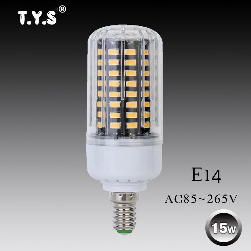 220v Led Light Bulb E14 Lamp Lampadas Led SMD 5736 85-265V 7w 9w 12w 15w High Power Led Energy Saving Replace Retro Edison Bulb