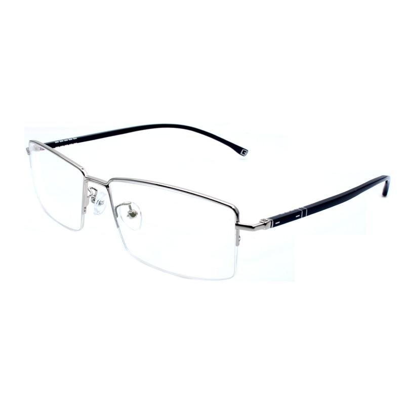 Handoer 66021 Optical Glasses Frame for Alloy Eyewear Half Rim Spectacles Prescription Eyeglasses