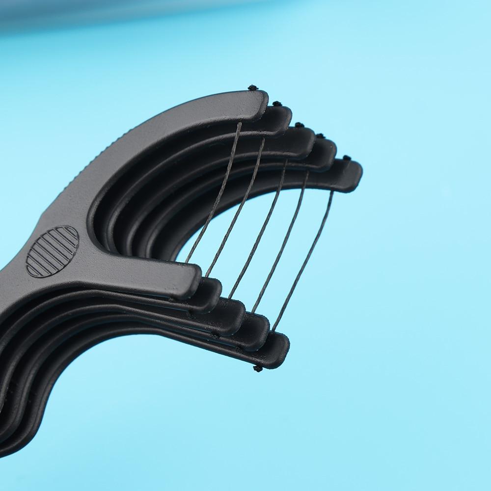 Mundhygiene Dental Flosser 50 Teile/satz Heißer Nützlich Bambus Holzkohle Zahnseide Zähne Sticks Zahn Picks Interdentalbürste Zahnstocher Flosser Zähne Sauber Werkzeug