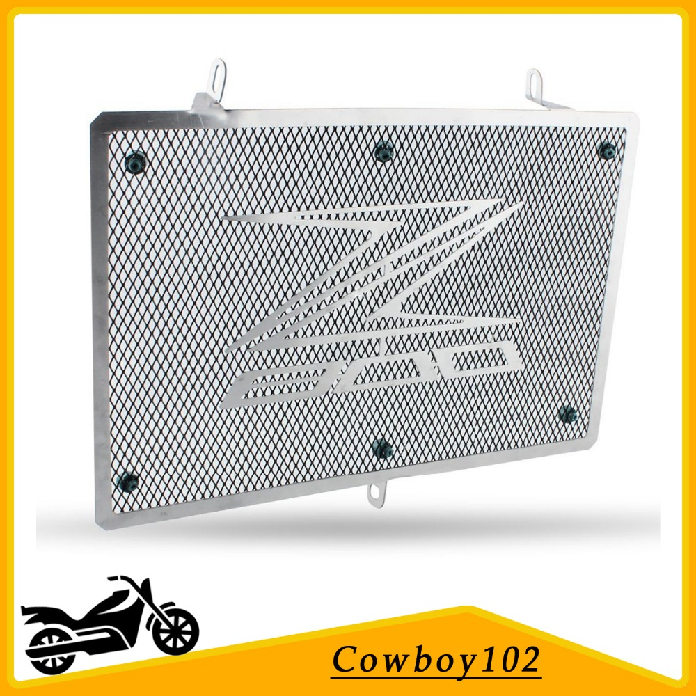 1X Motorcycle Stainless steel Radiator Grille Guard Cover Protector For Kawasaki Z800 Z 800 2012 2013 Free shipping motorcycle arashi radiator grille protective cover grill guard protector for kawasaki z800 2013 2014 2015 2016