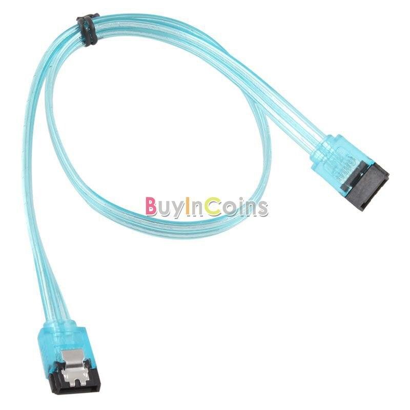 Высокая Скорость 50 см SATA 3.0 SATA3 6 ГБ/сек. кабель-удлинитель данных разъем 0.5 м Новый #21352