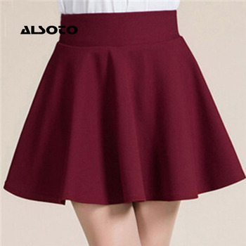 ALSOTO New Women Skirt Sexy Summer skirt Korean Version Short Skater Fashion Female Mini Skirt Women Clothing Bottoms Vadim tutu 1