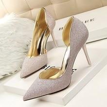 SEXY High Heels Shoes font b Women b font Pumps Stilettos Summer Wedding Shoes Chaussure Femme