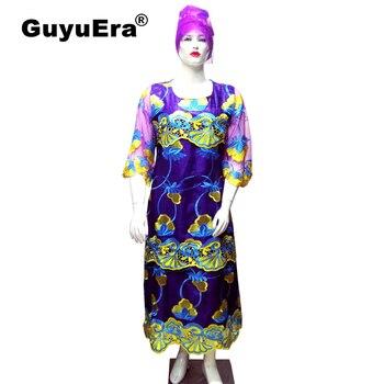 3621a3e330e1 Nueva llegada tela de encaje de cordón de oro de Color negro africano Bazin  Riche Getzner tela de ...