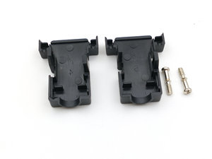 Image 4 - 100pcs DB9 D Sub Dsub cover hood shell 9 pin 15 pin