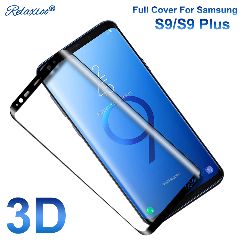 3D Screen Protector film for samsung galaxy s9 plus tempered glass for samsung s9 plus s 9 Toughened cover Protective 9H Hardnes