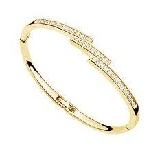 АААА+ стразы, золотой цвет, браслеты на запястье, модные ювелирные изделия, Прямая поставка, королевские подвески для женщин и девушек, горячий подарок, золотой