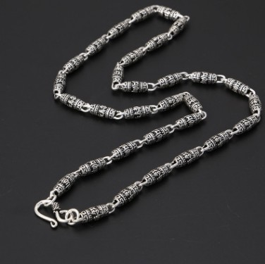 chain necklace silver chain mens necklace 5mm