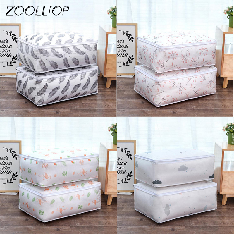 Fashion hot 2018 Household Items Storage Bags Organizer Clothes Quilt Finishing Dust Bag Quilts pouch Washable quilts bags 1|Storage Bags| - AliExpress