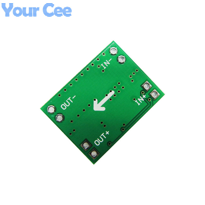 Image 2 - 5 pcs Ultra Small Size DC DC Step Down Power Supply Module 3A Adjustable Buck Converter for Arduino Replace LM2596-in Integrated Circuits from Electronic Components & Supplies
