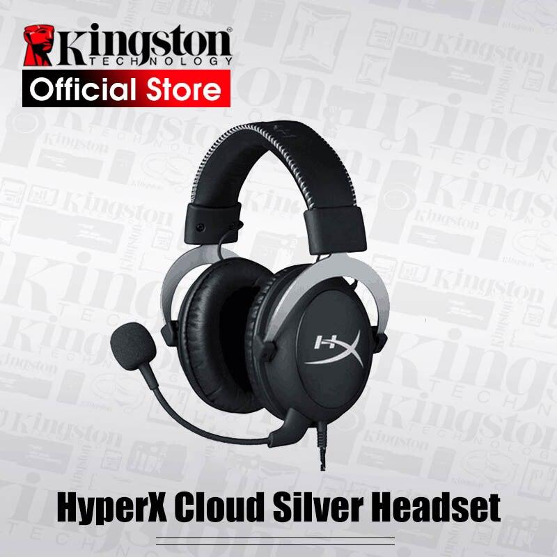 Kingston Gaming Headset HyperX Nuage Core Casque Avec un microphone Salut-fi Auriculares Pour PC PS4 Xbox appareils Mobiles