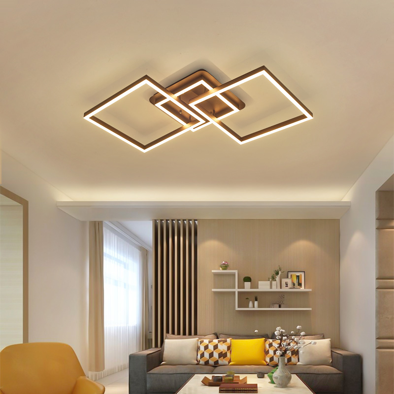 led ceiling light Living room lighting modern minimalist bedroom creative restaurant lamp Lamparas de techo avate abajur ...