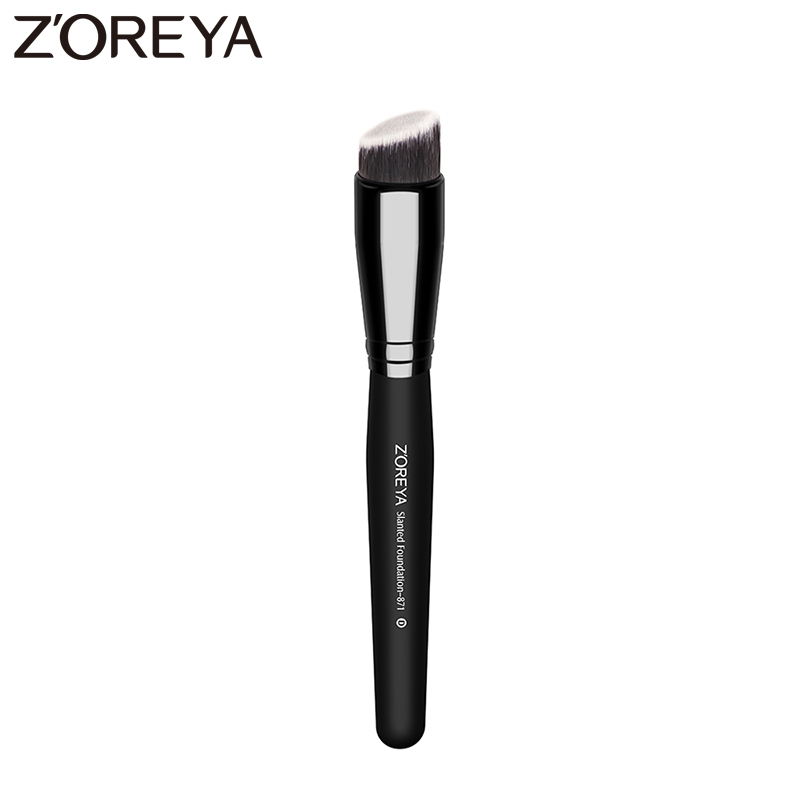 Zoreya Brand Professional Synthetic makeup Brush oblique style single makeup tool Cosmetic 1pcs sale