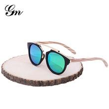 GM деревянные ножки Солнцезащитные очки Мужские Женские квадратные бамбуковые солнцезащитные очки дизайнерские зеркальные солнцезащитные очки для мужчин женские Ретро де Сол masculino