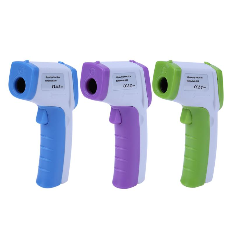 Body Surface Temperature Measurement Gun Handheld Non-contact Digital Forehead Thermometer LCD IR Infrared Thermometer Props non contact object surface infrared temperature measurement infrared measurement temperature module usb communication
