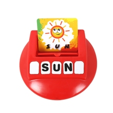 Spelling Toys English Spelling Alphabet Letters Game Early Learning Educational Toys kids tablet infantil Learning Machine Kids wooden cardboard english spelling alphabet game early education educational toys educational toy gift creative games brinquedos