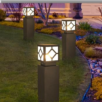 The lawn outside the square led lights europeanism courtyard lights garden lights outdoor landscape lamp lights in the park